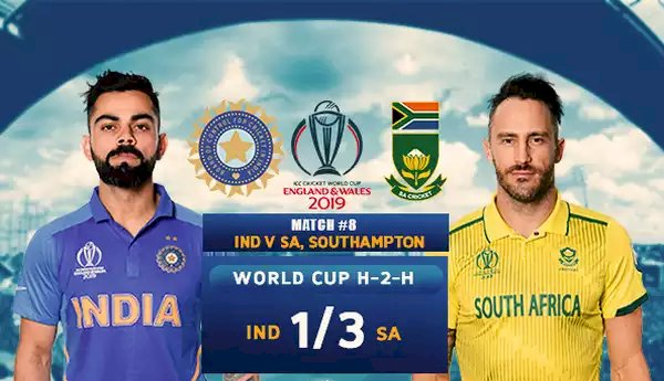 Indian south africa cricket live score